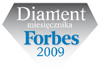 Nagroda - diament Ferbes 2009